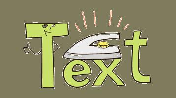 text verfeinern